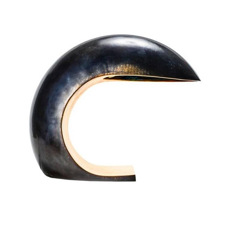 Nautilus Study Table Lamp by Christopher Kreiling