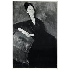 Anna Zborowska Portrait by Amadeo Modigliani
