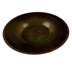 Just Andersen Art Deco Bronze Bowl or Dish, 1930s-1940s