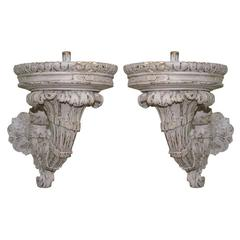 Pair of Classical Revival Wall Sconces