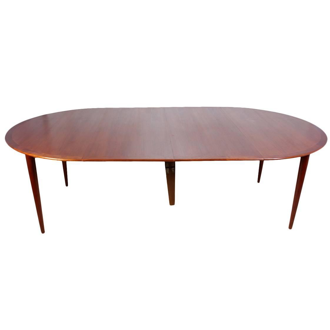 Mid Century Teak Dining Table By Grete Jalk Circa 1960 At 1stdibs