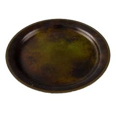 Just Andersen, a Bronze Bowl/Dish, 1930s-1940s