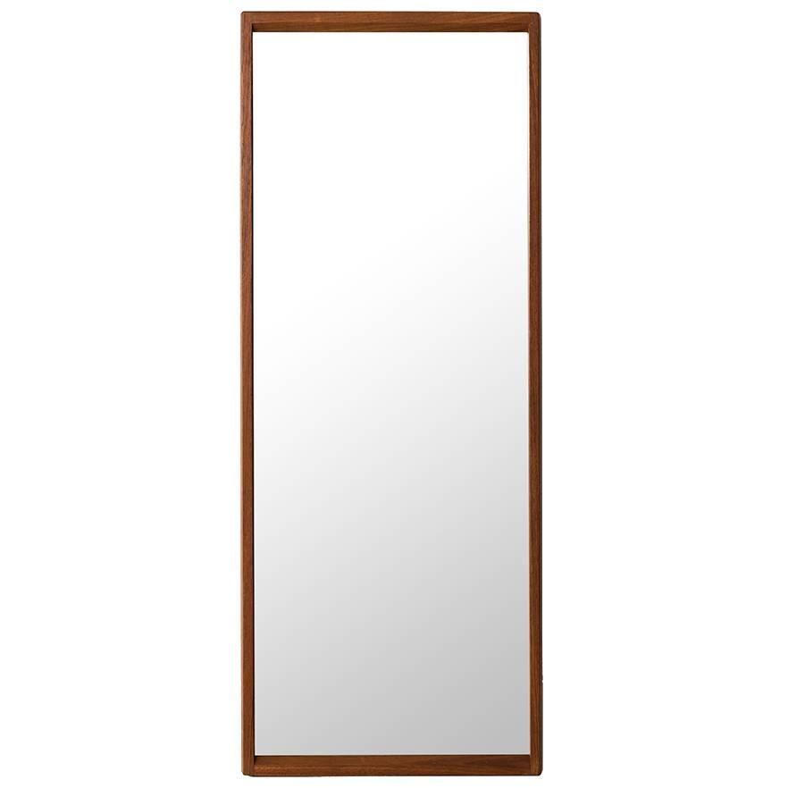 Aksel Kjersgaard Mirror in Teak Produced by Odder in Denmark
