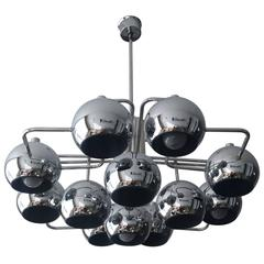 Exquisit Fun 3dm Chandelier Or Pendant Lamp By Verner Panton For