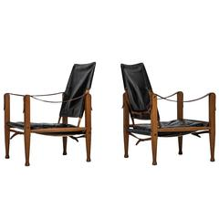 Kaare Klint Safari Chairs by Rud Rasmussen in Denmark