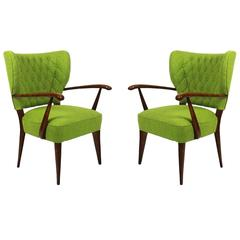 Pair of Small Armchairs from the 1940s