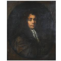 Old Master Painting School of Sir Godfrey Kneller 'Portrait of a Young Nobleman'