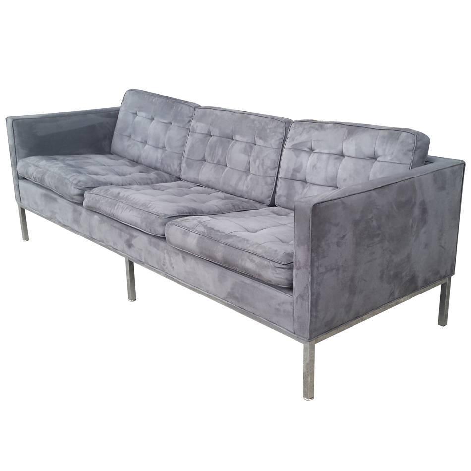 vintage florence knoll style sofa 39 mr14820 39 for sale at 1stdibs. Black Bedroom Furniture Sets. Home Design Ideas