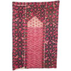 19th Century Antique Suzani from Tajikistan
