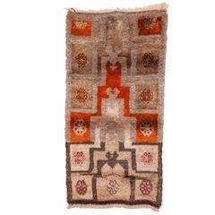 Vintage Central Anatolian, Angora and Wool Mix Tulu Rug