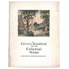 """""""Correct Woodwork for the Colonial Home"""" Book"""