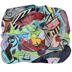 Postmodern Ceramic Platter in the Style of Betty Woodman