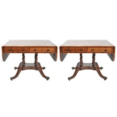 Pair of Regency Sofa Tables