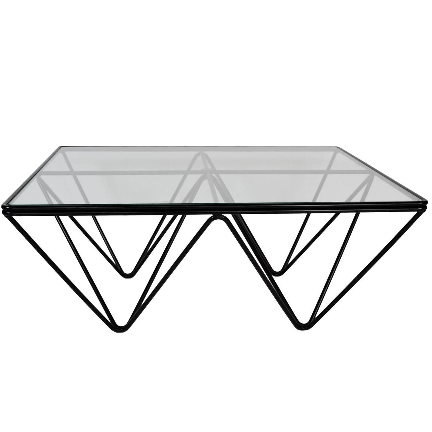 Alanda Square Coffee Table in the style of Paolo Piva for B&B