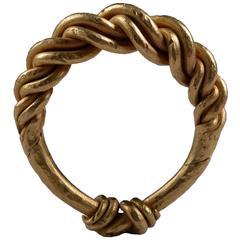 Ancient Gold Viking Ring, 950 AD