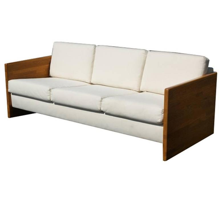 Charmant Vintage Jerryll Habegger Butcher Block Sofa Couch For Sale