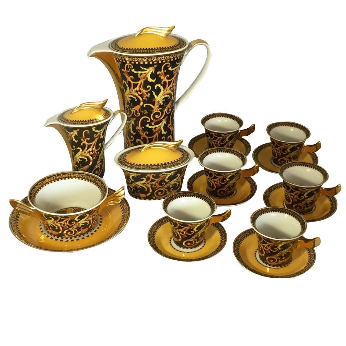 Rosenthal Versace Coffee Set For Sale At 1stdibs