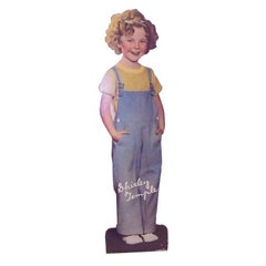 Vintage Shirley Temple Standee