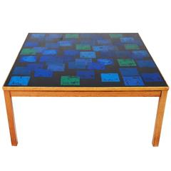 Swedish Trivia Coffee Table by P. Torneman and David Rosen for NK, 1960s