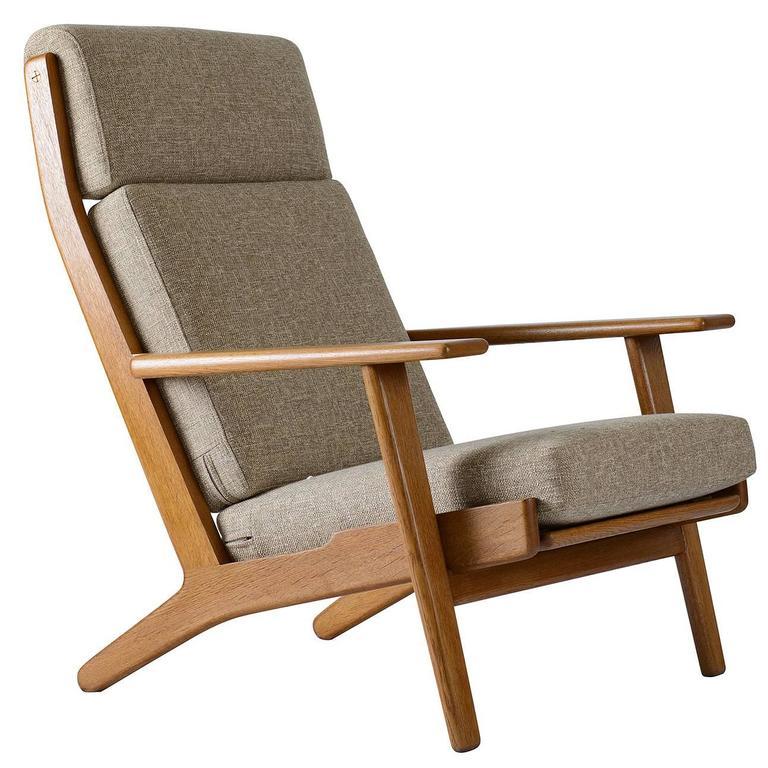 Hans Wegner GE-290 High Back Lounge Chair