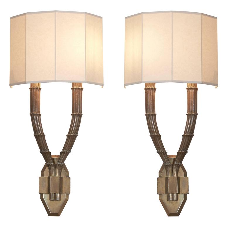 Pair of Sconces by D.I.M, circa 1925