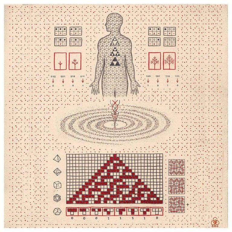 <i>Cellular Automaton</i>, 2015, by Daniel Martin Diaz