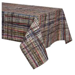 Crazy Plaid Tablecloth