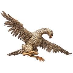 Large 17th Century Italian Eagle or Bird of Prey Sculpture