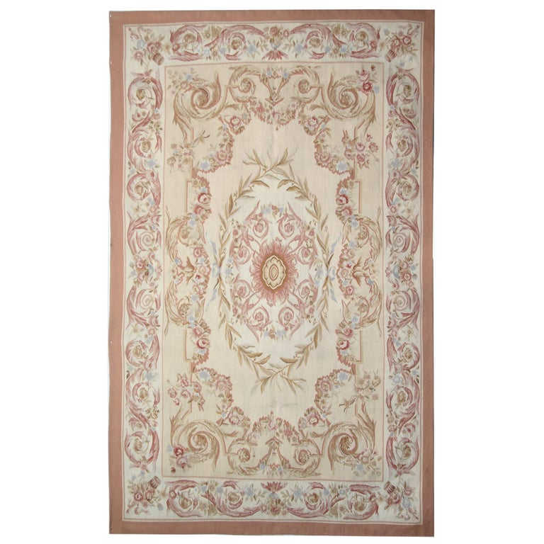 Fl Patterned Rug Aubusson Rugs