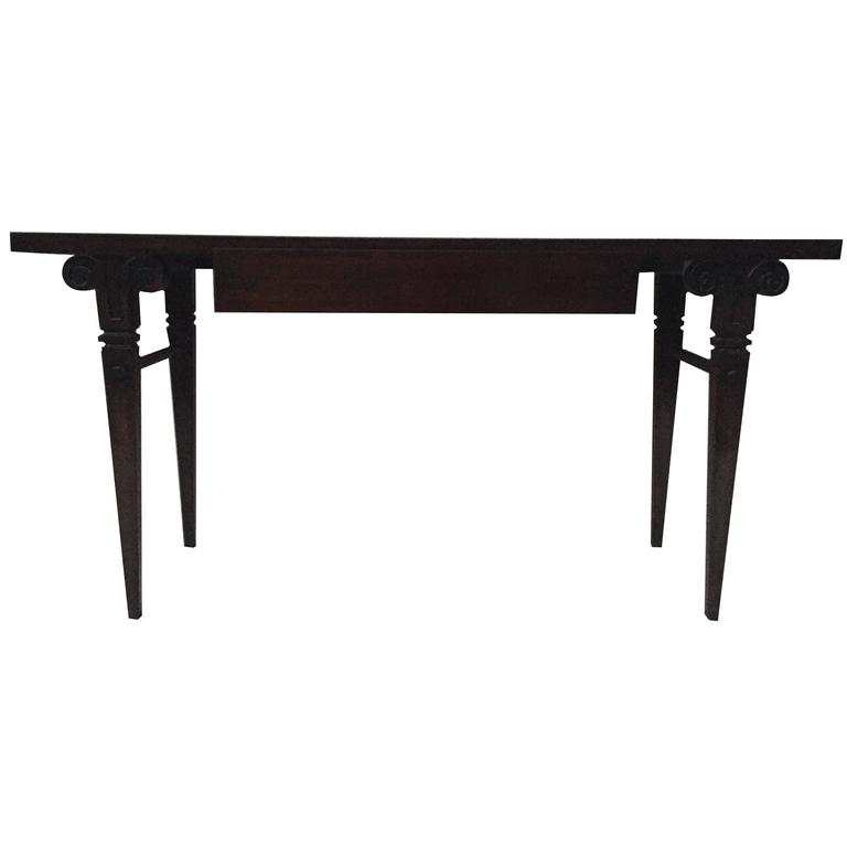Tommi Parzinger Rams Head Console / Sofa Table
