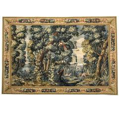 Antique Rug, Tapestry Felemish Style Wall Decoration Object, Decorative rugs