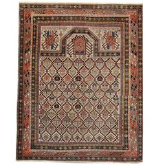 Persian Rugs, Antique Caucasian Carpet from Shirvan