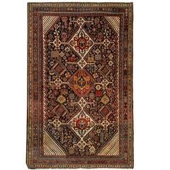 Persian Rugs, Antique Kashkouli Carpet from Qashqai