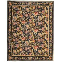 Aubusson Rugs, Floor Rug Floral Carpet as an Interior Objects for Home Decor