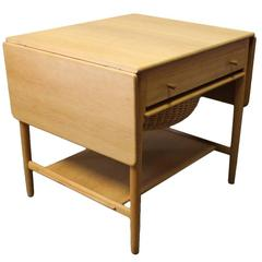Sewing or Work Table, Model AT-33 by Hans J. Wegner and Andreas Tuck, 1960s