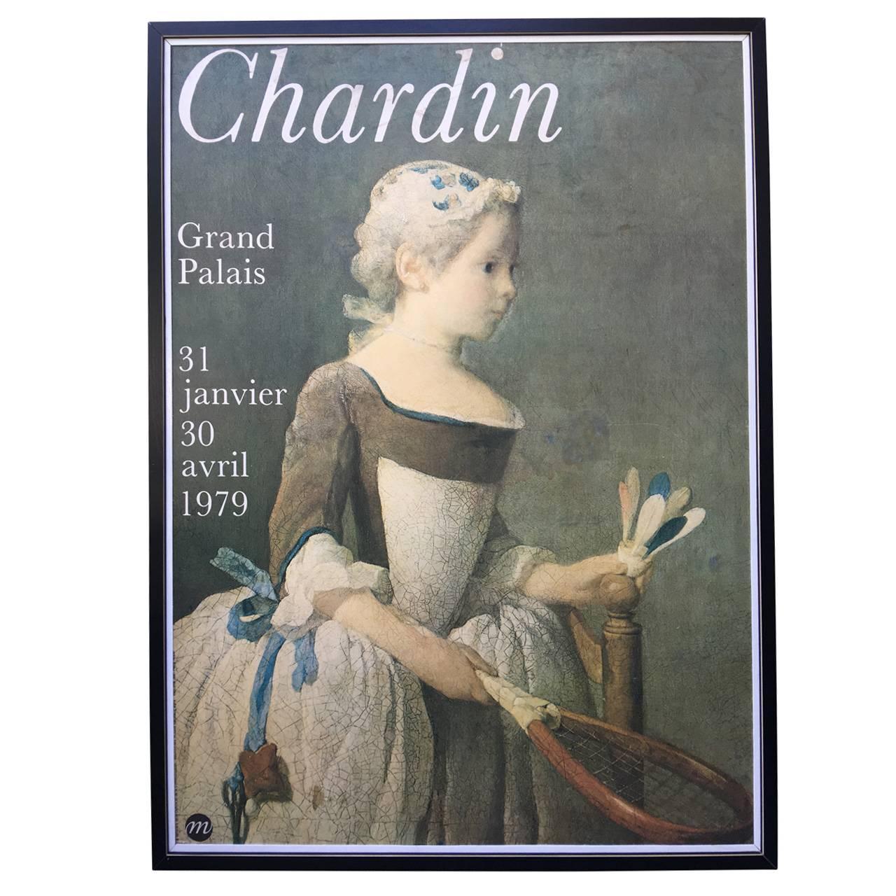 Large Vintage Grand Palais Poster