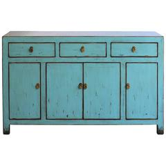 Dongbei Blue Sideboard