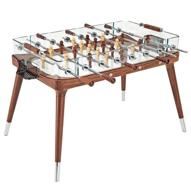 Foosball Table by Teckell in Walnut