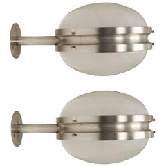 Large Sergio Mazza 'Gamma' Wall or Ceiling Lights for Artemide, circa 1960s