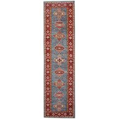 Carpet Runners Kazak Runner Rugs Oriental Large Rugs Blue Carpet