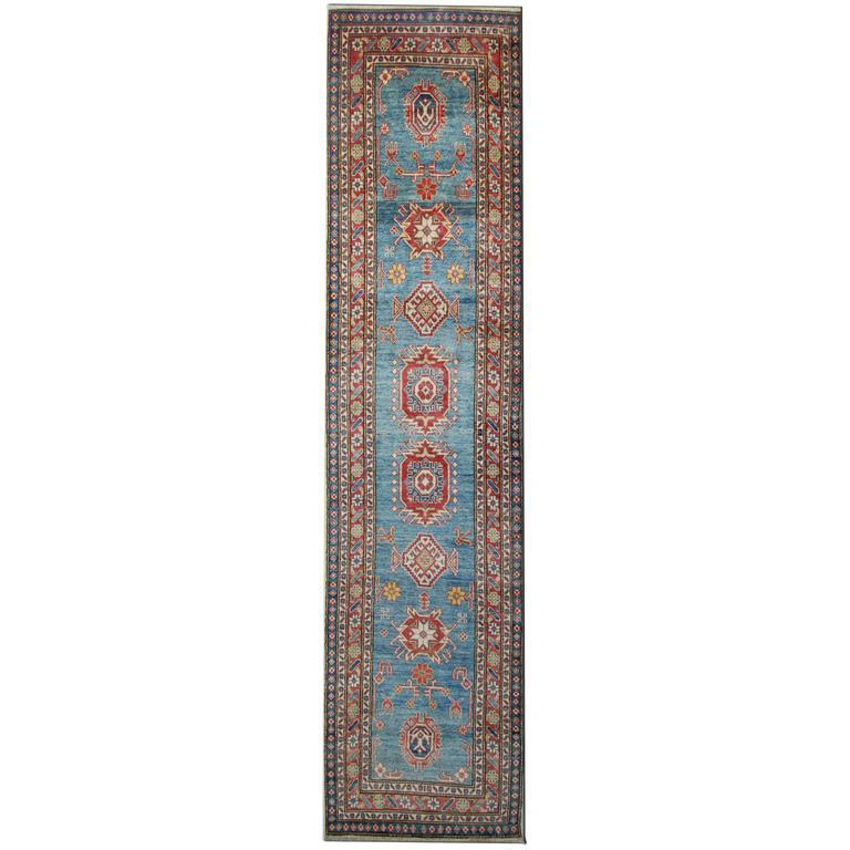 Carpet Runners, Kazak Runner Rugs, Large Rugs, Carpet from Afghanistan
