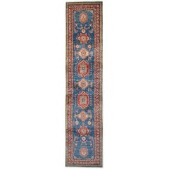 Handmade Carpet Runners, Kazak Runner Rugs, Large Rugs, Carpet from Afghanistan