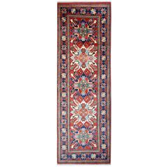 New Traditional rugs, Kazak Stair Runner, Afghan Runner Rugs