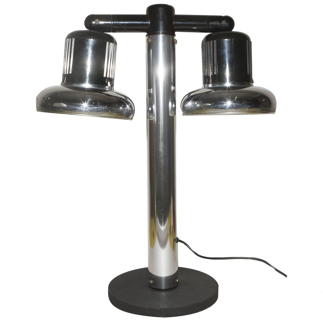 Table Lamp, Gae Aulenti, Livio Castiglioni, Stilnovo, 1970s, Italy