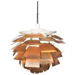 "Poul Henningsen ""Artichoke"" Ceiling Lamp, for Louis Poulsen 1960s"
