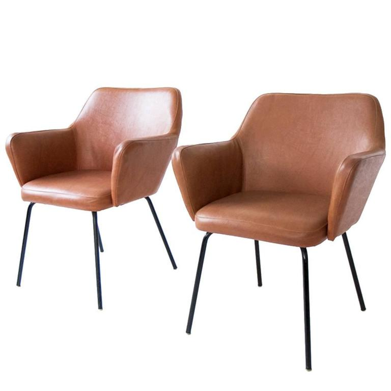 Italian Sofa Brent Cross: Vintage Airone Chair By Gio Ponti For Arflex, 1950s For