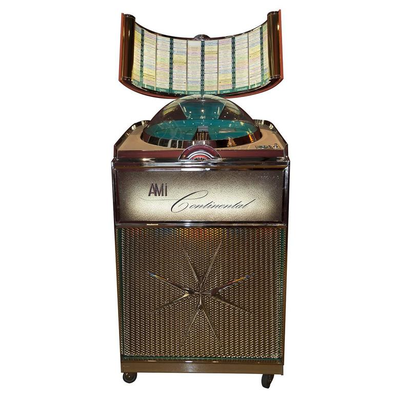 Jukebox, Ami Continental, 1960, Musicbox For Sale