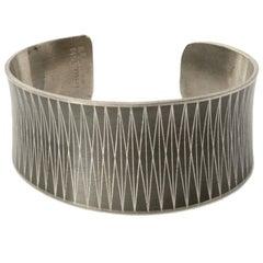 Scandinavian Modern Bracelet in Pewter by Jorgen Jensen, Vejle, Denmark