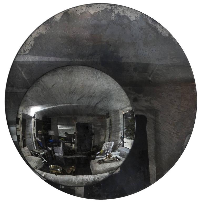 Large round mirror for sale at 1stdibs for Large round mirrors for sale