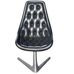 Star Trek Chromcraft Sculpta Unicorn Chair V-Shaped Base
